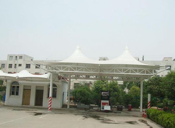 揚州膜結構加油站