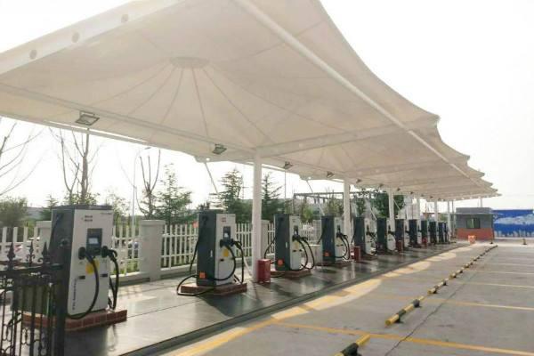 泰州膜结构加油站