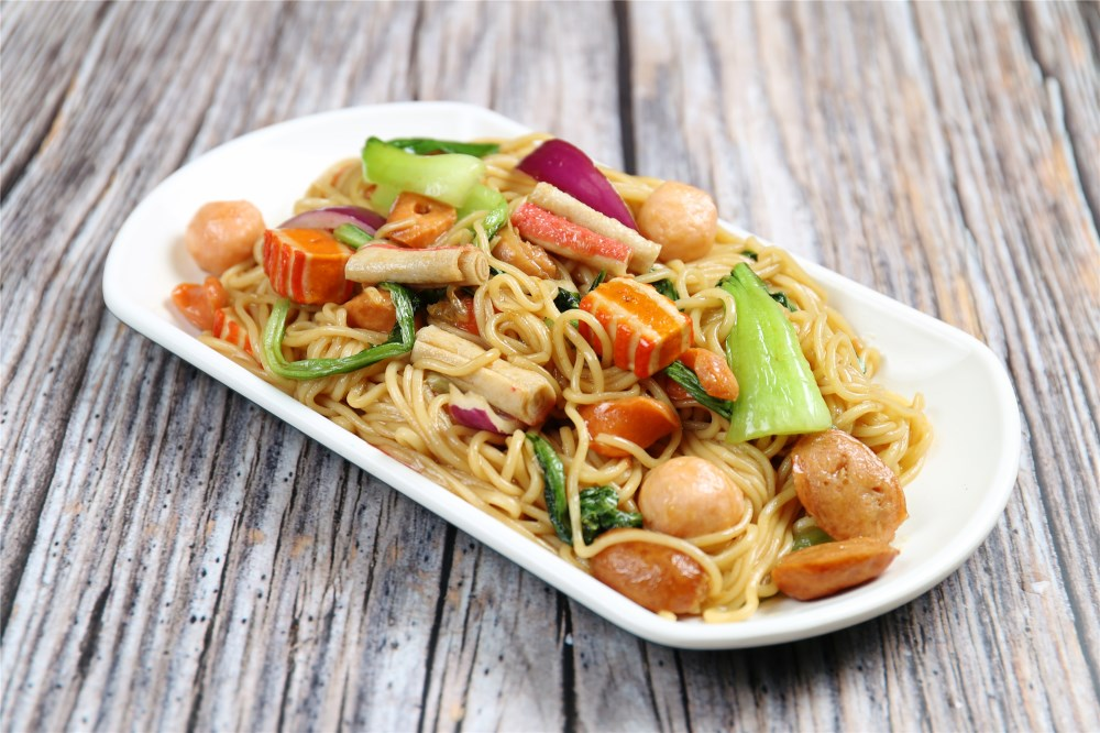 海鲜蔬菜炒饭