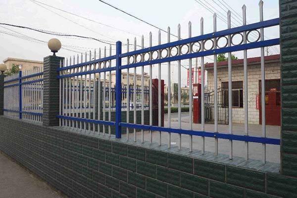 小區圍欄鋅鋼護欄