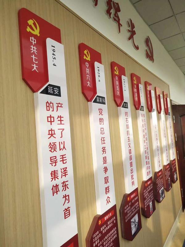 咸阳党建形象墙