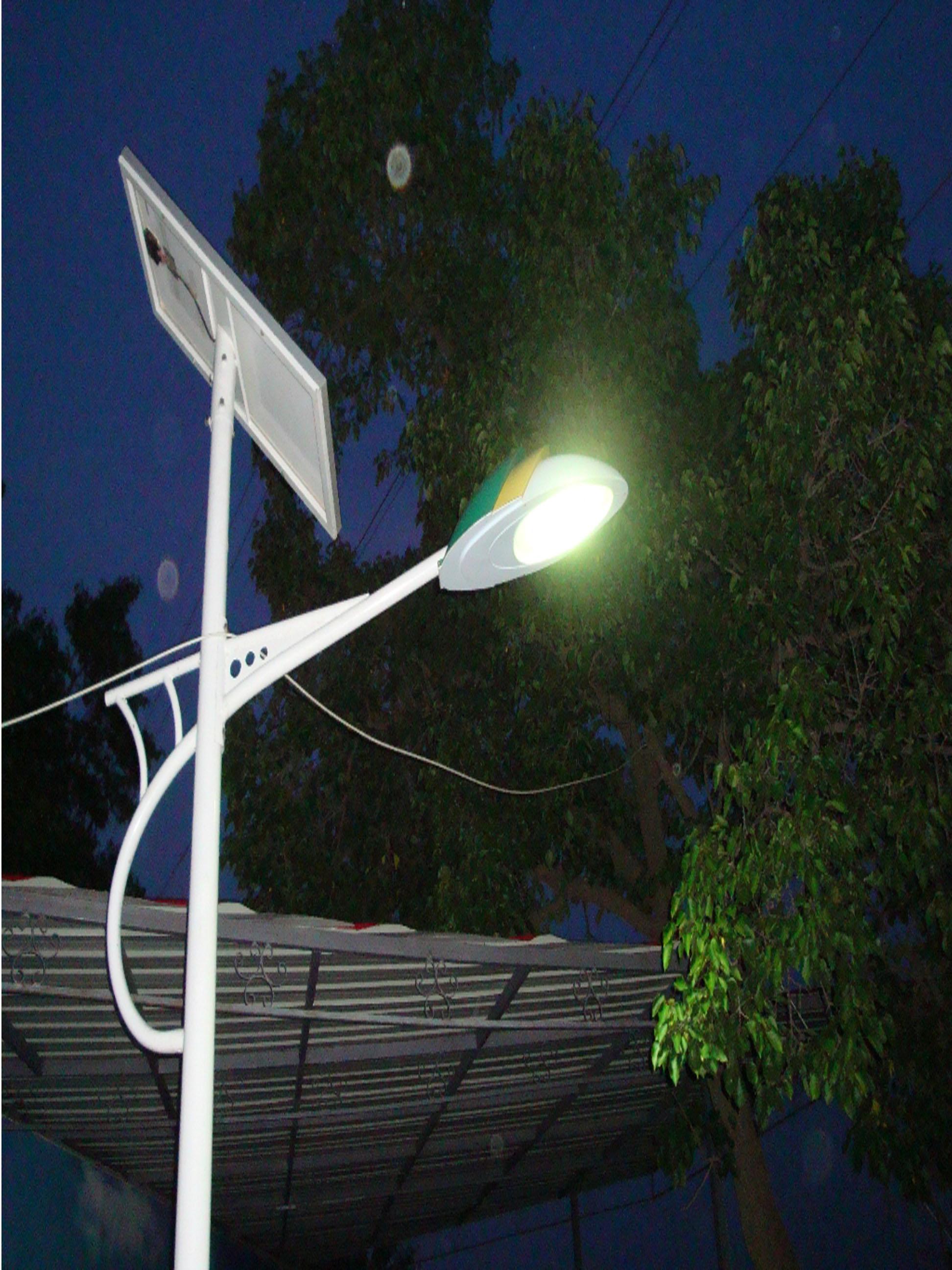 太陽能路燈安裝簡便