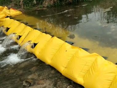 安装拦水坝必做的防渗透工作