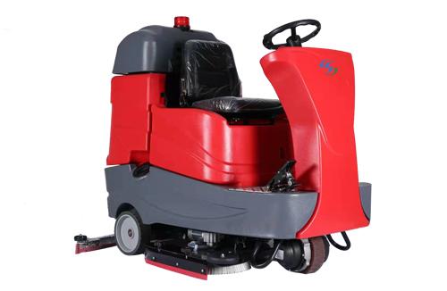 驾驶式洗地机D-900