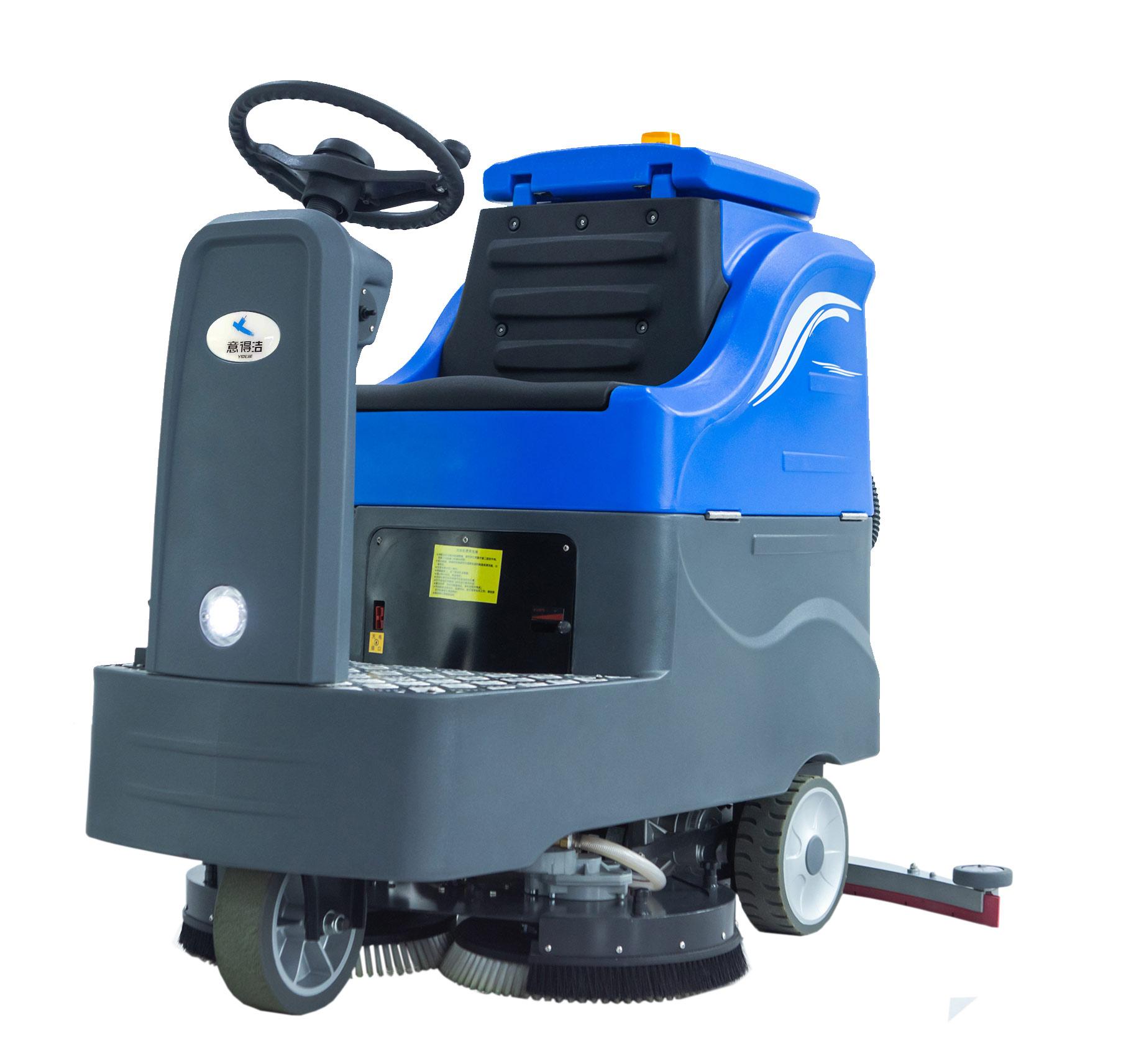 中型双刷驾驶式洗地机swtd860