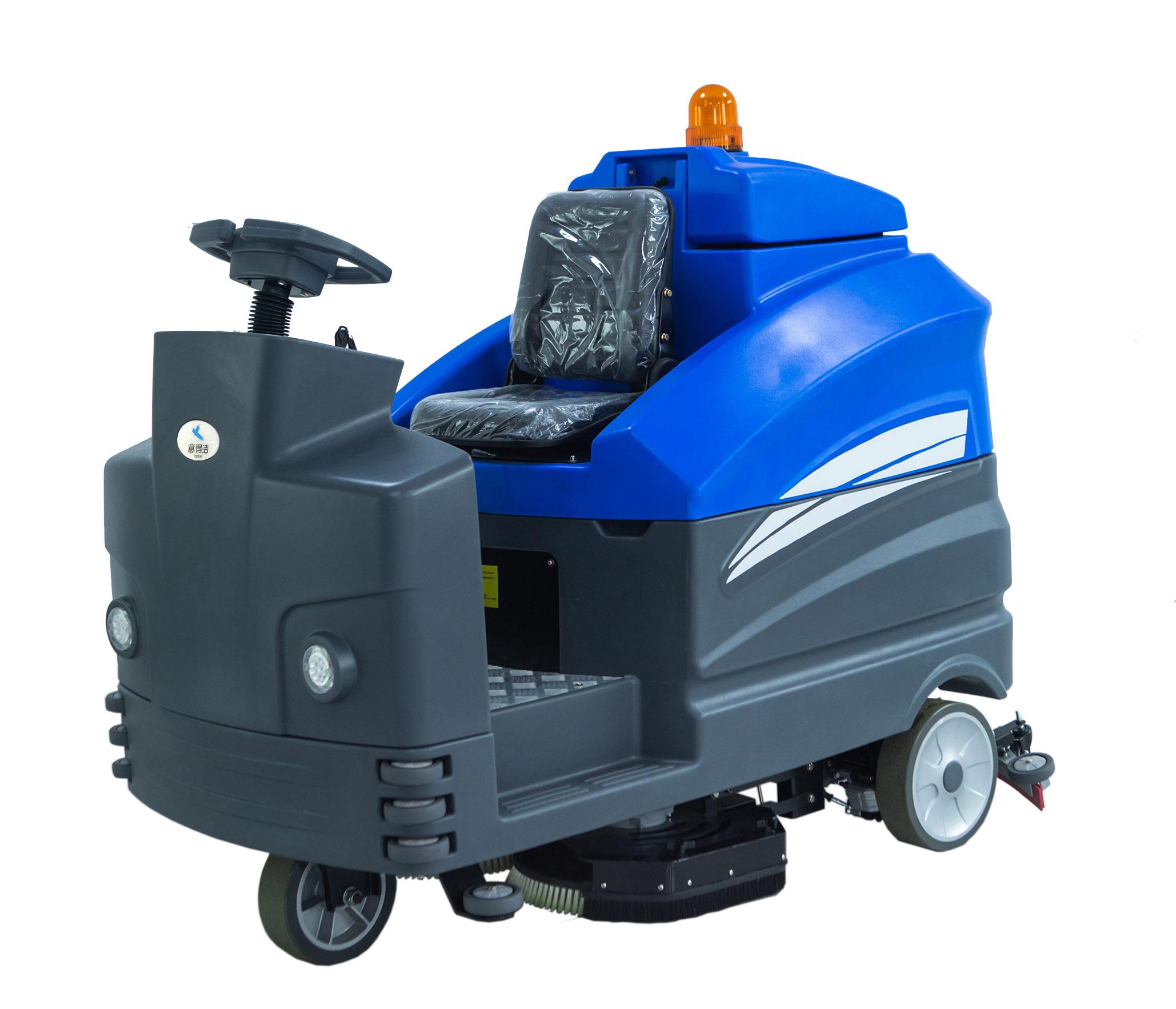 大型双刷驾驶式洗地机swtd1050