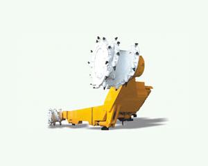MG250/560系列电牵引采煤机