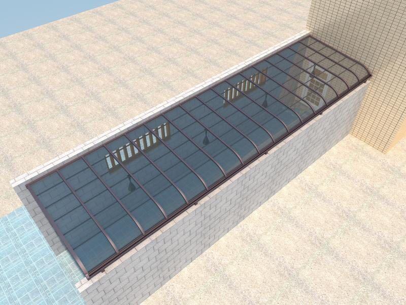 浅析实用的景区膜结构遮阳棚安装方法