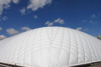 丹東/哈爾濱充氣膜結構應用于場館是否成為一種趨勢