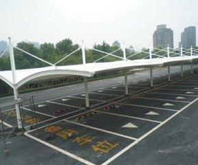 膜结构汽车棚怎样安装钢构件