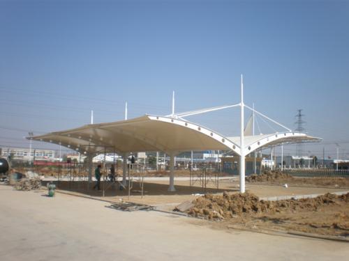 鄂州膜结构车棚