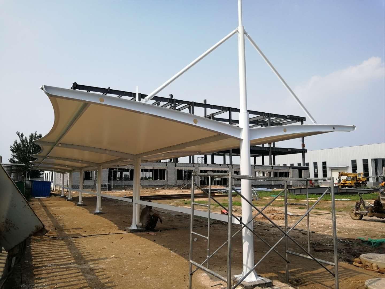 汉中膜结构车棚