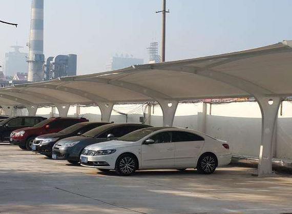 防城港膜结构停车棚