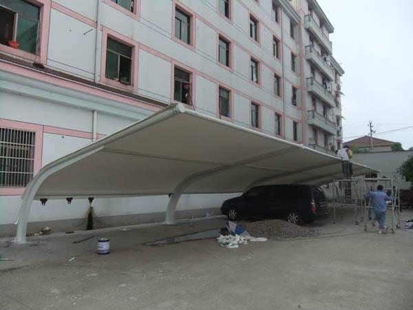 漳州膜结构车棚