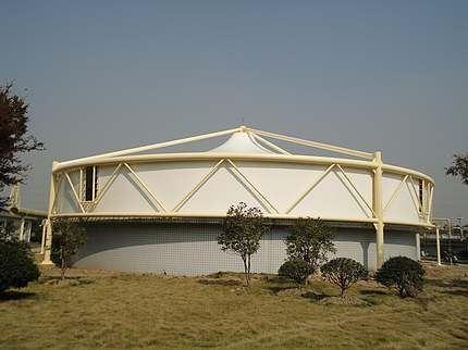 膜结构污水池工程施工工艺荷载设计涉及到哪些层面