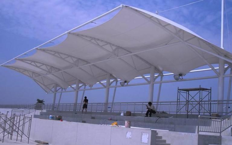 山南膜结构看台
