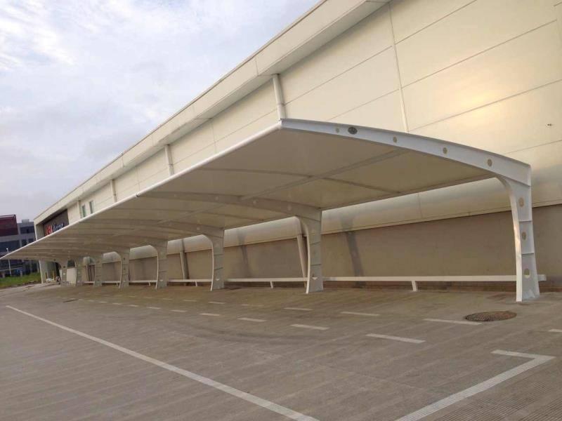 不少林芝膜结构车棚用户为何会委托专业的膜结构工程公司来做