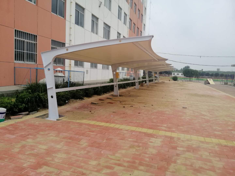 日喀则膜结构自行车棚