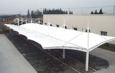 膜结构停车棚的类型都有哪些
