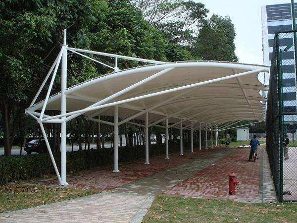 膜結構遮陽棚