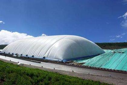 山东充气膜结构煤棚