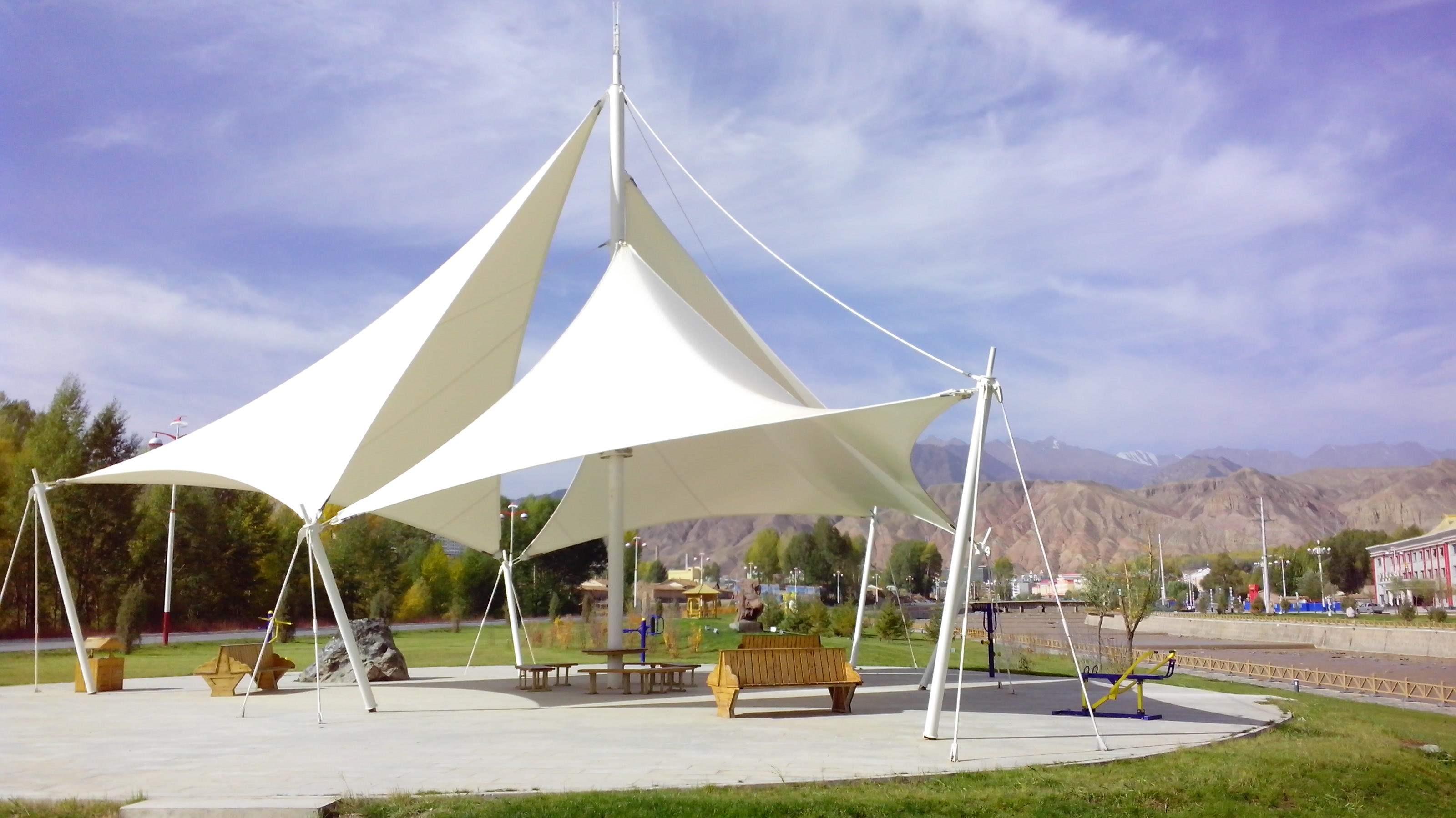 遮阳景观膜结构