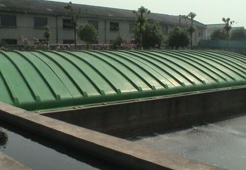 反吊式污水池加盖