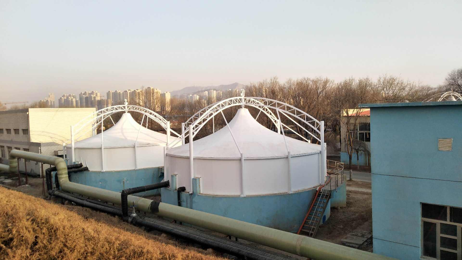 反吊式污水池加蓋