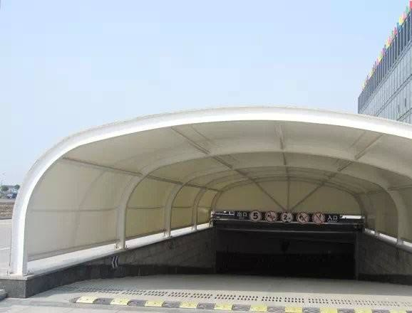 興城/哈爾濱膜結構出入口維護要點