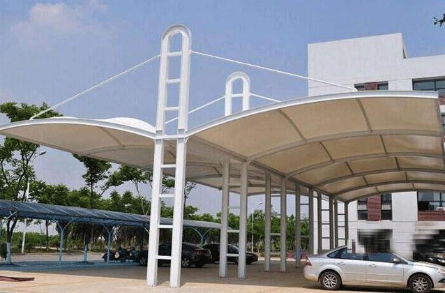 膜结构停车棚的制作步骤是怎样的?