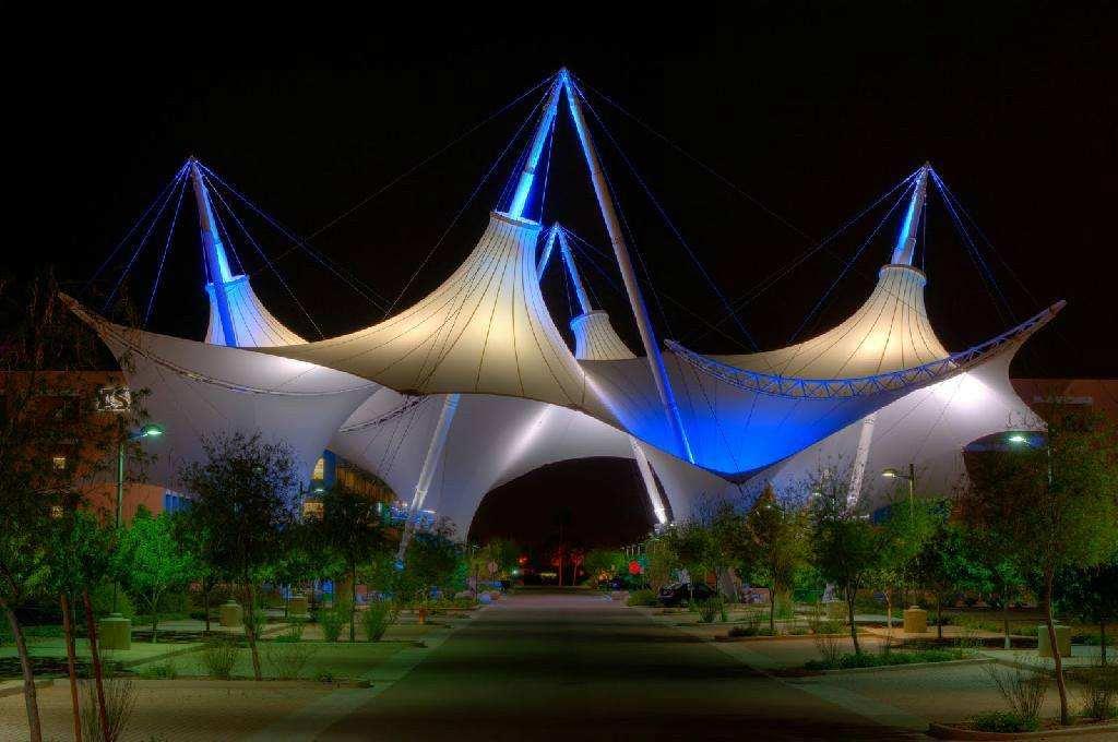 景观膜结构建筑翻新工作流程有哪些呢