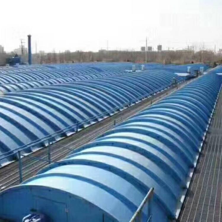 污水池膜结构集气罩
