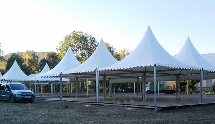 膜结构遮阳棚工程