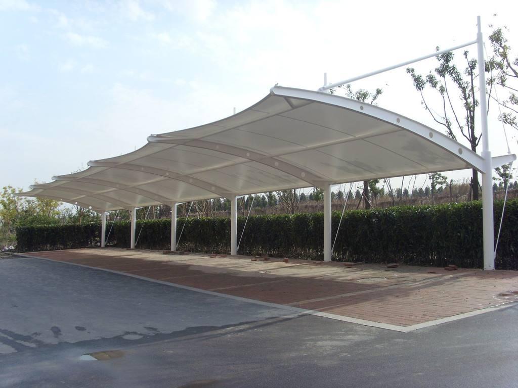 膜结构车棚雨棚