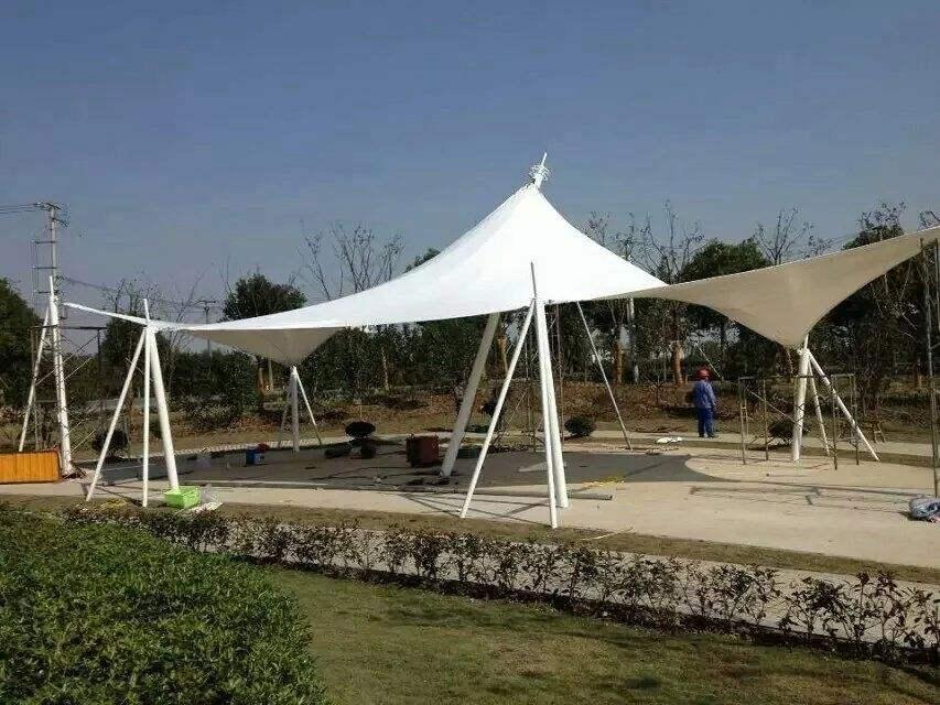 膜结构中柱伞工程