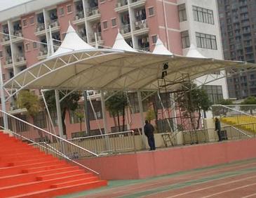 体育场看台膜结构工程