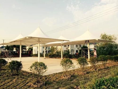 园林别墅膜结构工程