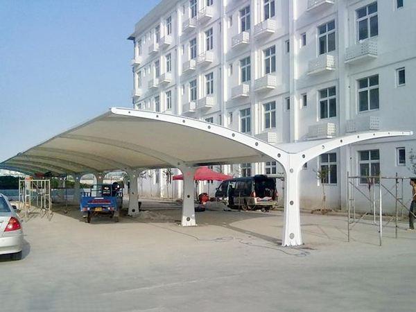 医院膜结构停车棚