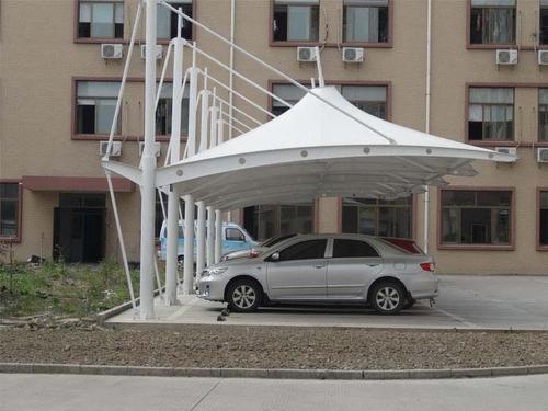 小区膜结构停车棚成本费用包括什么