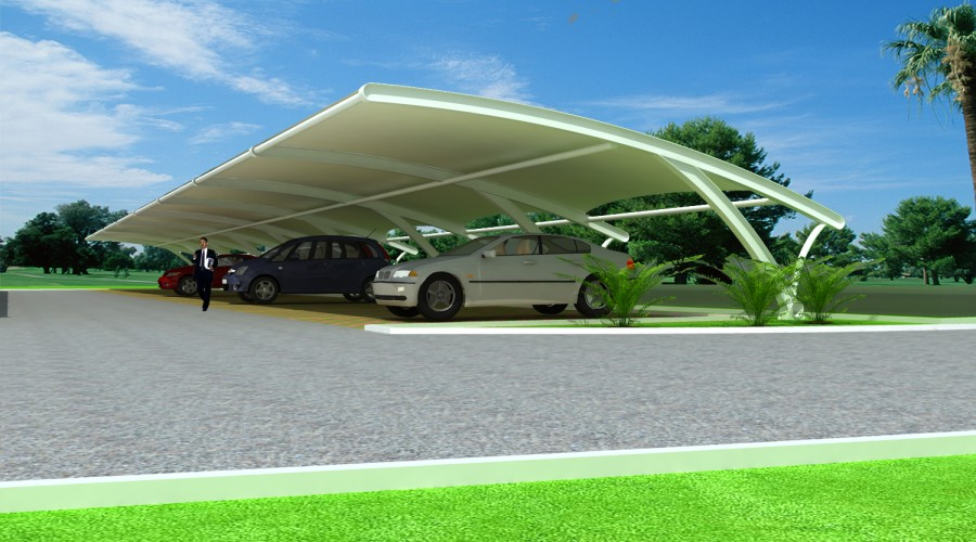 结构以及膜结构停车棚特点以及概述