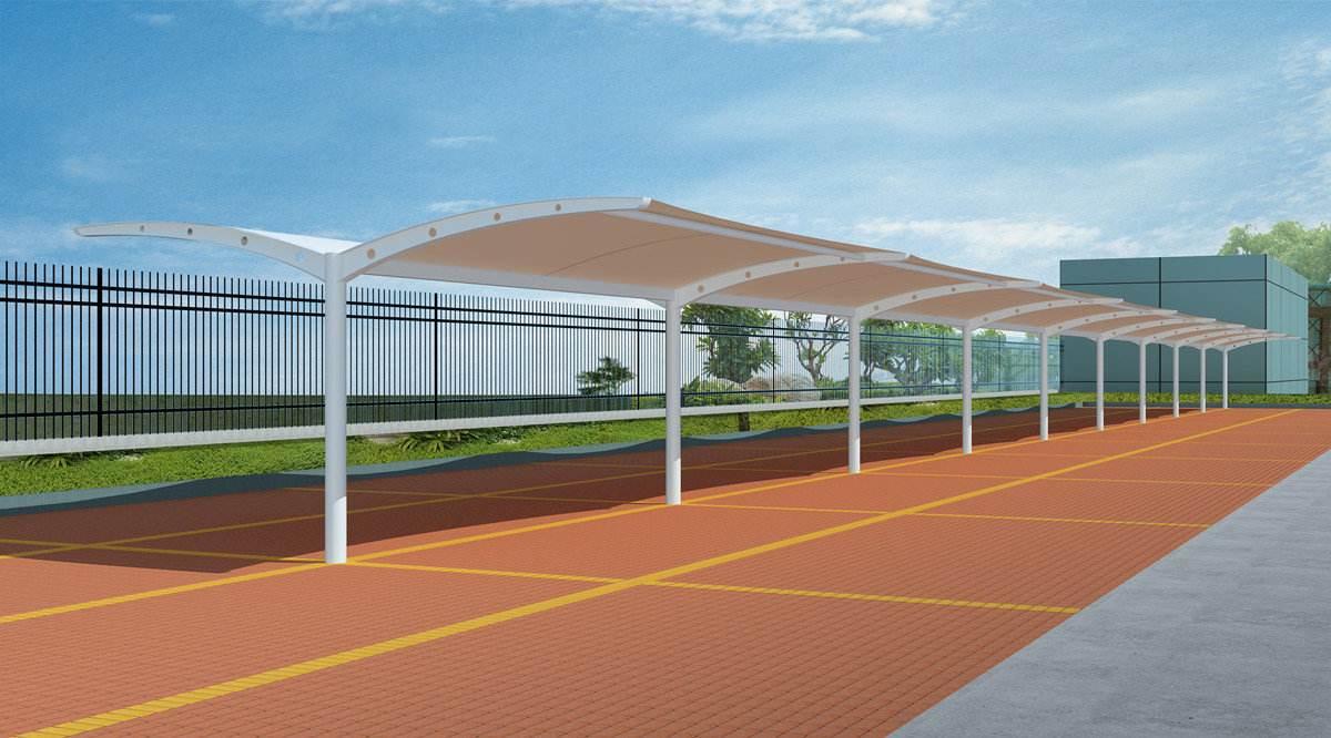 膜结构停车棚常见的问题及维护方法有哪些?