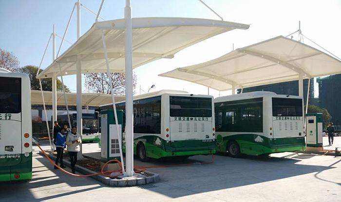 膜结构公交站停车棚的基础知识及其特点有哪些呢?