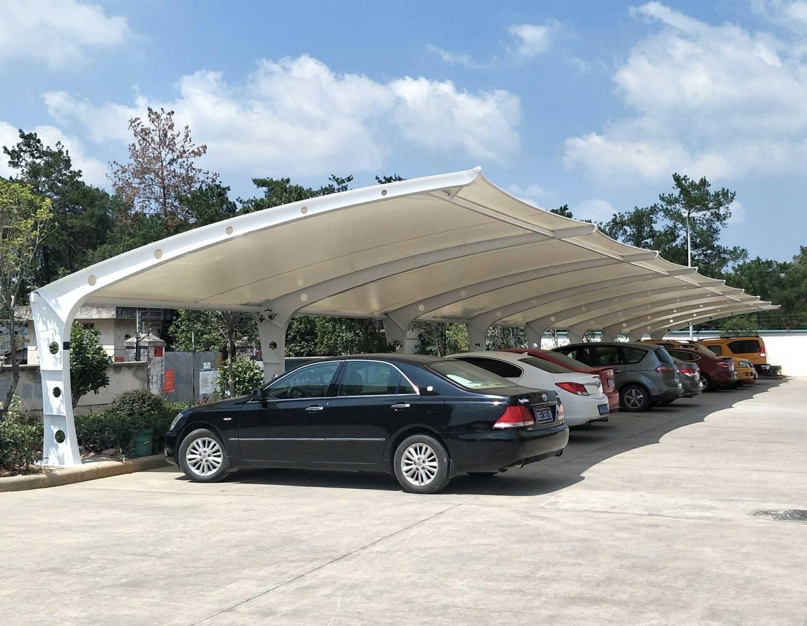 膜结构停车棚施工过程中应注意事项有哪些呢?
