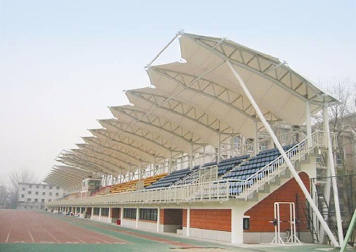 膜结构看台在体育场的应用