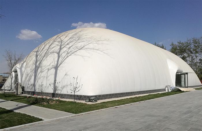 内蒙古充气膜结构在储煤行业应用的安全性如何呢?