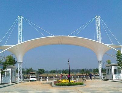 衢州景观膜结构