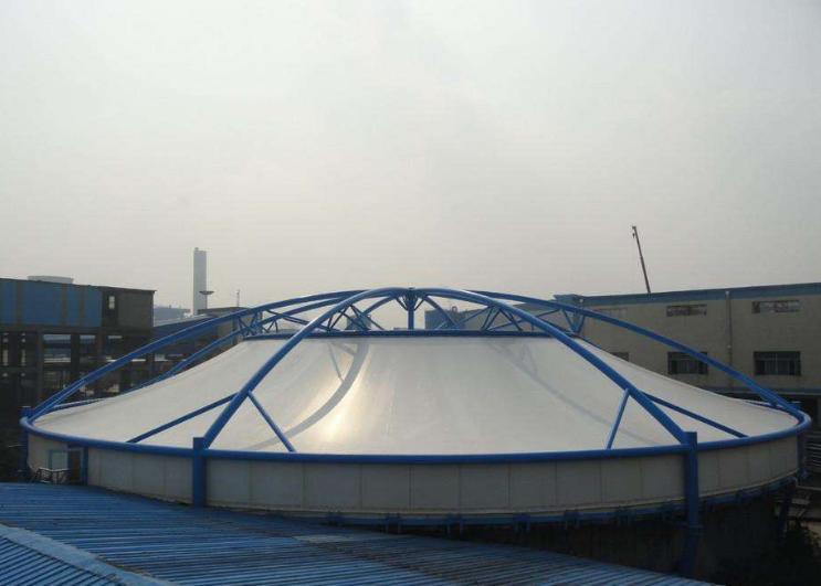 膜结构污水池钢材节点受力性能的分析