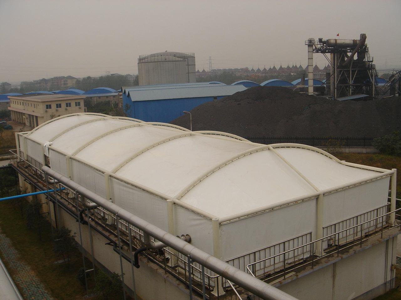 台州膜结构污水池