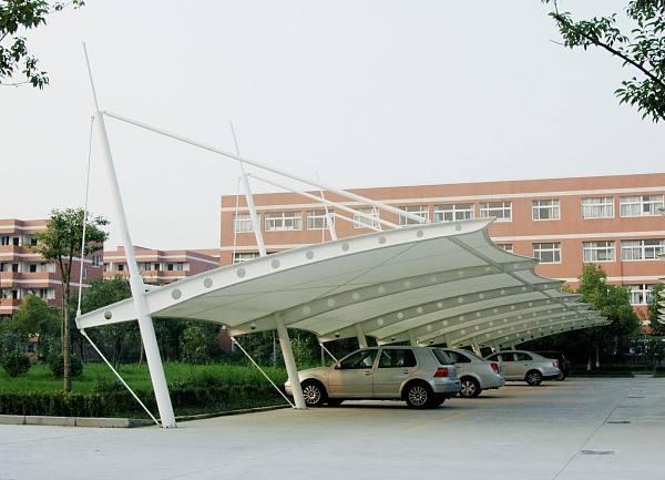 舟山膜结构停车棚
