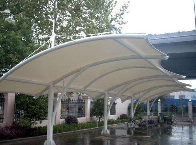 克拉玛依膜结构车棚